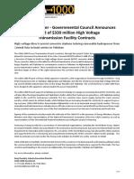 CASA-1000 Project Press Release Revision 8.2