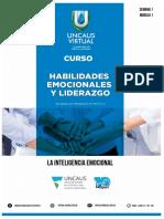 Clase 1 - Manual Habilidades Emocionales y Liderazgo