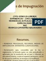 Recursos en Civil y Laboral