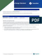 Transmission Line Design Standard