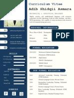 CV Inggris 2 Hal TTD