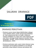 07A- Saluran Drainage