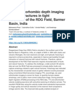 Using Orthorhombic Depth Imaging to Image Fractures in Tight Reservoirs of the RDG Field