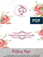 Final Events Management Proposal