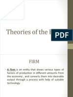 Theories of the Firm
