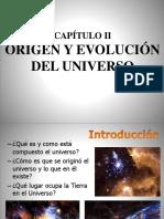 Cap 2 Origen y Evolución Del Universo