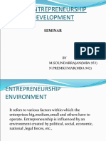 43345582 Entrepreneurial Environment