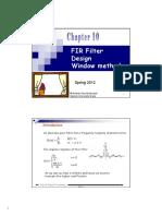 FIR Filter DesignWindow