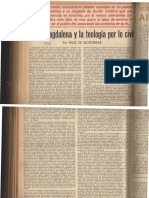 Miret de Magdalena y La Teologia Por Lo Civil- Feix de Montemar
