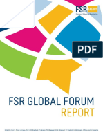 FSR Global Forum Report