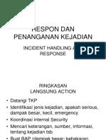 Incident Handling & Response