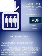 Elevators and Automatic Rescue Device