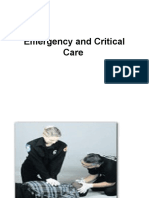 Emergency Nursing & Critical Care
