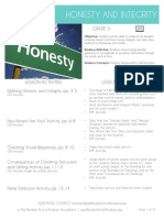 5 Honesty and Integrity