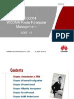 WCDMA Radio Resource Management ISSUE1.0