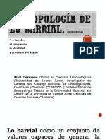 Antropología de Lo Barrial