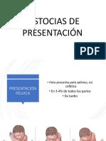 Distocias de Presentación