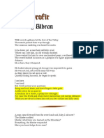 Albran. the Profit