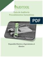 GuÝa de AuditorÝa Para Procedimientos Sustantivos Para Efectivo y Equivalentes Al Efectivo