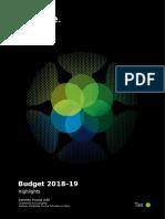 Budget Highlights 2018 19 Deloitte (Pakistan
