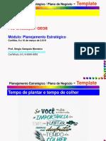 GEOB 2019 - Planejamento Estratégico
