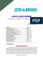 BOLETIN DE MISIONES 08-11-10