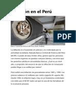 Inflación en El Perú