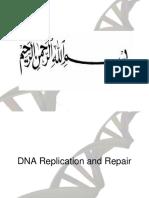 20180512 Lecture 2. Replication & DNA Repair