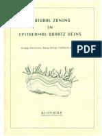 Textural Zoning in Epithermal Quartz Veins - Morrison, Guoyi & Jaireth, CA 1990