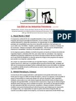 Los SGA en Las Industrias Petroleras