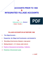 Village Accounts