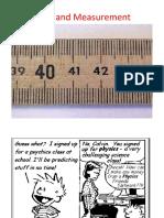 1 Units and Measurements