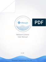 Milesight Network Camera User Manual