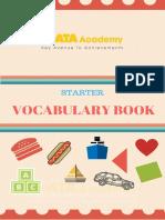 Vocabulary Starter Book KATA (37-40)