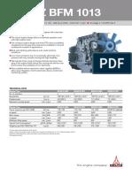Datenblatt BFM 1013 Mobile Arbeitsmaschinen Englisch