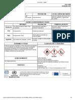 Icsc 0215 - Hidróxido de Amonio (Disolución 10-35%)