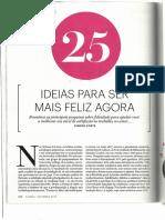 Revista Claudia Materia Renata Feldman
