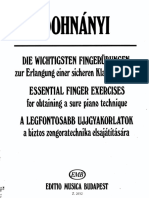 Dohnanyi - Piano - Essential Finger Exercises.pdf
