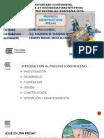 Proceso Constructivo Presa
