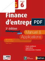 Nathan - DCG UE 6 - Finance d'Entreprise - Manuel & Applications - 3e Édition 2017