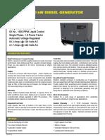 10 KW Diesel Generato AGi9P