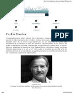 Biografia de Carlos Fuentes