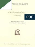 Sancho Recuerda Monologo 888982