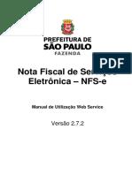 Nota Fiscal de Serviço Eletrônica SP