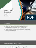 Ch2L6 - Relationship Development Strategies