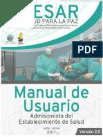 Manual admisionsita SESAR