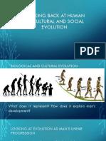 Human Biocultural and Social Evolution