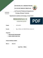 Monografia de Bioquimica Nucleicos
