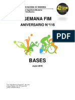 Bases de Futsal, Voley y Basquet 2019