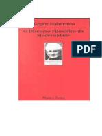 HABERMAS, Jürgen. O discurso filosófico da Modernidade.pdf